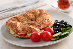 Turkisk frukost Royaltyfri Fotografi