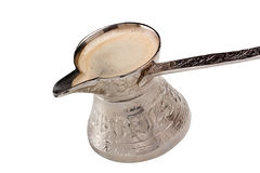 Turkisk kaffekruka Arkivfoton