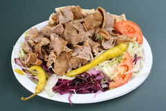 Turkisk kebab Stock Image