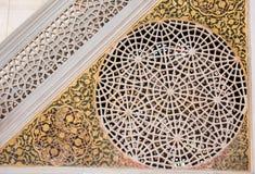 Turkisk konst för ottoman med geometriska modeller Arkivbilder