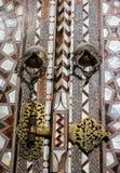 Turkisk konst för ottoman med geometriska modeller arkivfoton