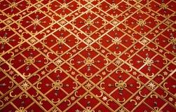 Turkisk konst f?r ottoman med geometriska modeller fotografering för bildbyråer