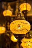 Turkisk lampa Arkivbilder