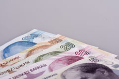 Turkisk Lira Royaltyfria Bilder