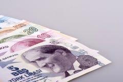 Turkisk Lira Arkivbilder