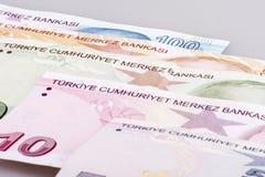 Turkisk Lira Fotografering för Bildbyråer