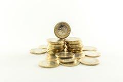 Turkisk Lira - järnpengar 1 TL Royaltyfri Bild