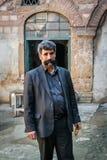 Turkisk man med mustaschen Royaltyfri Bild