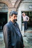 Turkisk man med mustaschen Royaltyfri Foto