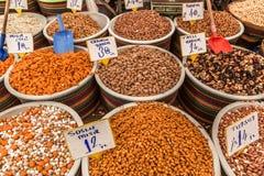 Turkisk marknad Arkivbild