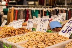 Turkisk marknad Arkivfoto