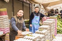 Turkisk marknad Arkivbilder