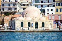 Turkisk moské, Chania Arkivbild