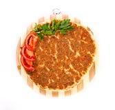 Turkisk pizza Royaltyfria Bilder