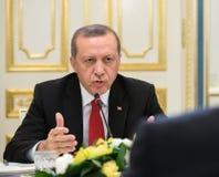 Turkisk president Recep Tayyip Erdogan Royaltyfria Bilder