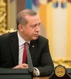 Turkisk president Recep Tayyip Erdogan Fotografering för Bildbyråer
