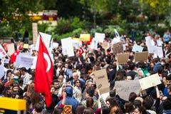 Turkisk sammankomst Arkivbild