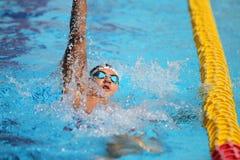 Turkisk simningmästerskap Arkivbild