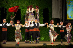 Turkisk spektakulär dans Arkivbild