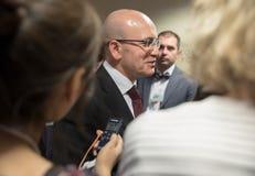 Turkisk ställföreträdande premiärminister Mehmet Simsek Arkivfoto