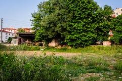 Turkisk stad Arkivbild
