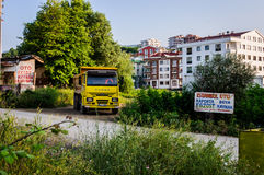Turkisk stad Arkivfoton