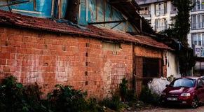 Turkisk stad Fotografering för Bildbyråer