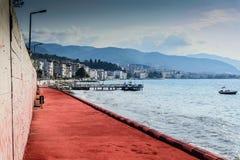 Turkisk stad för sommarsemester Arkivfoton