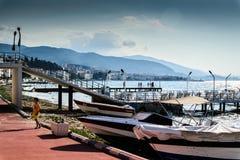Turkisk stad för sommarsemester Royaltyfri Fotografi