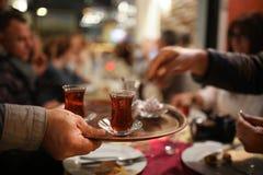 Turkisk tea royaltyfri bild