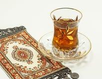 Turkisk tea Arkivbilder