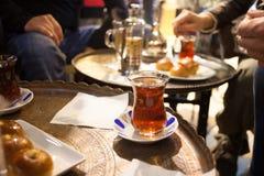 Turkisk tea Royaltyfri Foto
