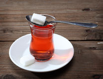 Turkisk tea Arkivfoto