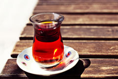 Turkisk tea Arkivbilder