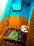 Turkisk toalett Arkivfoton