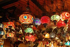 Turkisk traditionell souvenir Fener Royaltyfri Fotografi