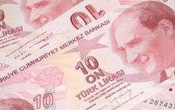 Turkisk valuta Fotografering för Bildbyråer