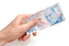 Turkisk valuta Royaltyfri Bild