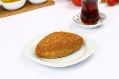 Turkiska bakelser - Pogaca Royaltyfri Foto
