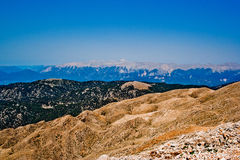 turkiska berg Arkivfoton