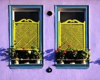 turkiska fönster royaltyfri fotografi