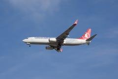 turkiska flygbolag Arkivfoton