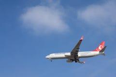 turkiska flygbolag Royaltyfri Fotografi