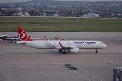 turkiska flygbolag Arkivfoto