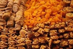 Turkiska fröjder, traditionella turkiska sötsaker Arkivfoto
