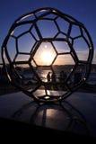 turkiska ideala monument för fotboll Arkivfoto