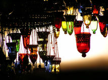 turkiska lampor Fotografering för Bildbyråer