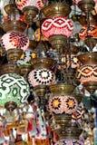 Turkiska lampor Arkivfoton