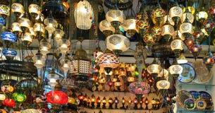 Turkiska lampor Royaltyfri Bild
