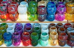 Turkiska lampor Royaltyfria Bilder
